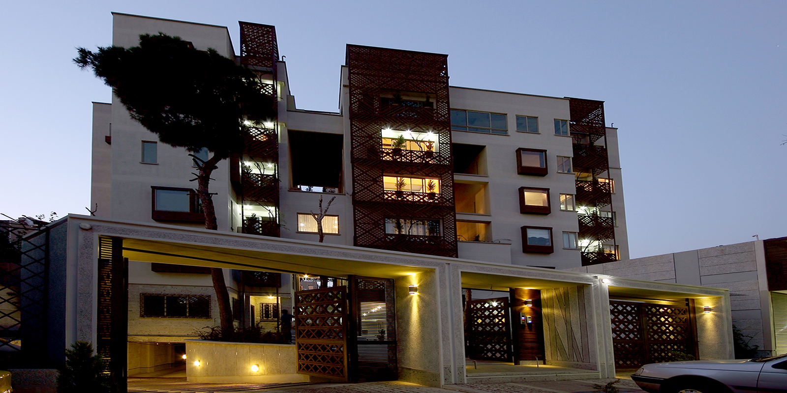 Bagh Vanak Residential Building - Shortlisted WAF 2010